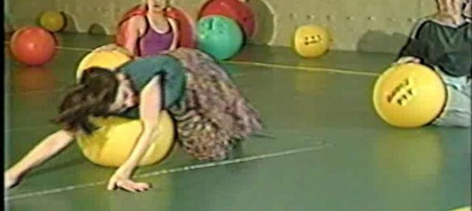 SOMARHYTHMS:  Refining Somatic Awareness by Rolling, Falling and Balancing with Large Balls